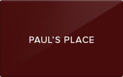 Buy Paul's Place Gift Card