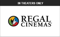 Buy Regal Cinemas (In Theaters Only) Gift Card