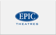 Buy Epic Theaters Gift Card
