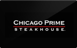 Sell Chicago Prime Steakhouse Gift Card