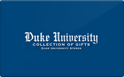 Buy Duke University Store Gift Card