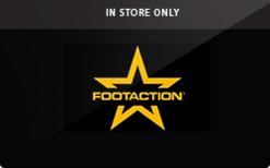 Sell Footaction (In Store Only) Gift Card