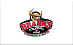 Sell Brann's Steakhouse & Sports Grille Gift Card