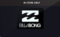 Buy Billabong (In Store Only) Gift Card