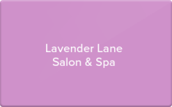 Sell Lavender Lane Salon & Spa Gift Card