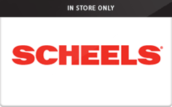 Sell Scheels (In Store Only) Gift Card