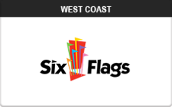 Sell Six Flags (West Coast) Gift Card