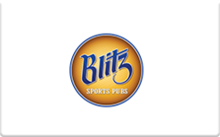 Sell Blitz Sports Pubs Gift Card