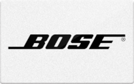 Buy Bose Gift Card