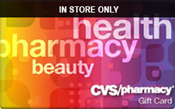Sell CVS Pharmacy (In Store Only) Gift Card