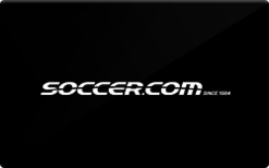 Sell Soccer.com Gift Card