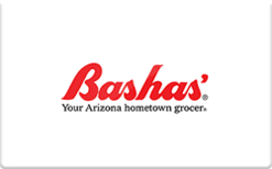 Sell Bashas' Grocery Stores Gift Card