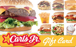 Sell Carl's Jr. Gift Card
