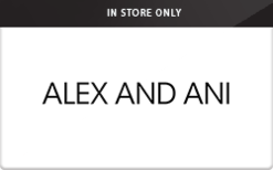 Sell Alex and Ani (In Store Only) Gift Card