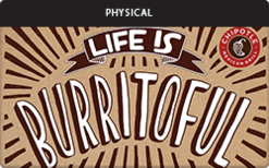 Sell Chipotle (Physical) Gift Card