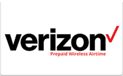 Buy Verizon Prepaid (Pre-Paid Phone Plans Only) Gift Card