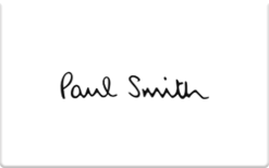 Buy Paul Smith Gift Card