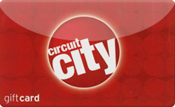 Buy Circuit City Gift Card