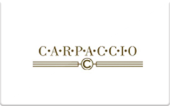 Sell Carpaccio Restaurant Gift Card