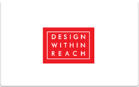 Buy Design Within Reach Gift Card