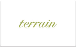 Buy Terrain Gift Card
