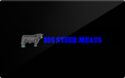 Sell Big Steer Meats Gift Card