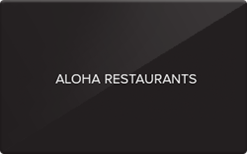 Sell Aloha Restaurants Gift Card