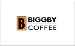Sell BIGGBY COFFEE Gift Card