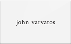 Sell John Varvatos Gift Card