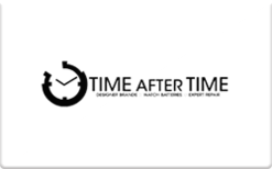 Sell Time After Time Gift Card