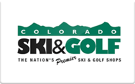 Buy Colorado Ski and Golf Gift Card