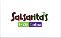 Sell Salsarita's Fresh Cantina Gift Card
