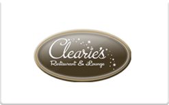 Sell Clearie's Restaurant & Lounge Gift Card