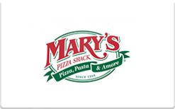 Sell Mary's Pizza Shack Gift Card