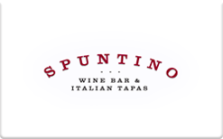 Buy Spuntino Wine Bar Gift Card