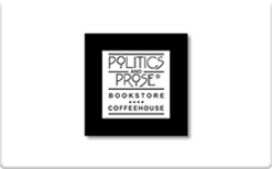 Sell Politics & Prose Gift Card