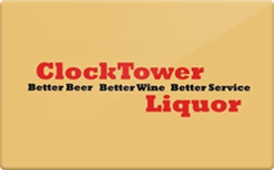 Sell Clocktower Liquors Gift Card