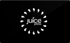 Sell juice press Gift Card