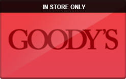 Sell Goody's (In Store Only) Gift Card