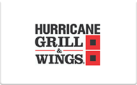 Buy Hurricane Grill & Wings Gift Card