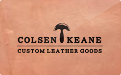 Sell ColsenKeane Leather Gift Card