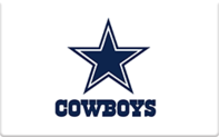 Buy Dallas Cowboys Pro Shop Gift Card
