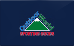 Sell The Outdoor World Gift Card