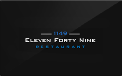 Sell Eleven Forty Nine Restaurant Gift Card