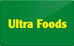 Sell Ultra Foods Gift Card