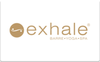 Buy Exhale Gift Card