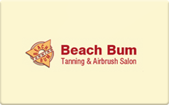 Sell Beach Bum Gift Card