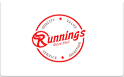 Sell Runnings Gift Card