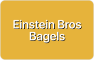 Buy Einstein Bros Bagels Gift Card