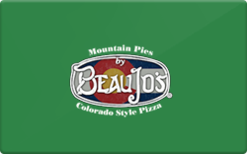 Sell Beau Jo's Pizza Gift Card